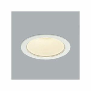 コイズミ照明 LEDベースダウンライト 防雨型 600lmクラス 白熱球60W相当 電球色(3000K) 埋込穴φ100mm 照度角65° AD43377L