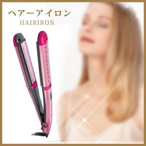 マイナスイオンヘアーアイロン テスコム ITH1500-P ピンク ツバキオイルとマイナスイオンで美しい仕上がりへ
