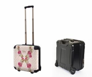 キャラート アートスーツケース Valerie Tabor Smith v07 ジッパー2輪 機内持込 J00927 1〜3泊向き 【代引不可】