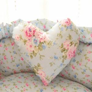 ペット 犬 猫 ドッグ ベッド カドラー ペットプロ 花柄 キュート ハート柄 ペット 犬 猫 ベッド マット