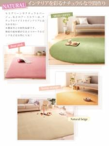 2色×6サイズから選べる マイクロファイバーラグ・マット・カーペット・じゅうたん・敷き物 (幅×高さ 19×19cm)(カラー ミッドナイト