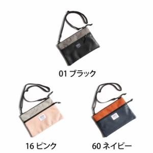 【cd161122】バッグ メンズ/ショルダーバッグ サコッシュ PUレザー 手持ち 2way 小物 ネイビー ブラック 黒 ピンク
