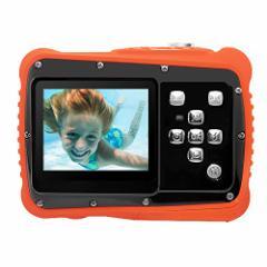 [新品]Pellor 子供用 デジタルカメラ 500万画素イメージセンサ トイカメラ 防水 ミニカメラ マイク内蔵スピーカー付き 子供用カメラ 子