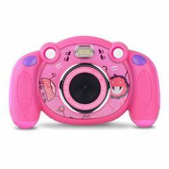 [新品]キッズカメラ 子供カメラ デジタルカメラ 2.0インチ 子供プレゼント 録画可 Campark 【12ヶ月保証】
