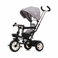 [新品]Boso 子供三輪車 回転式 一台四役 幼児用トライク9ヶ月から6歳まで使える ノーパンクタイヤ 手押し棒付き サンシェード お出かけ