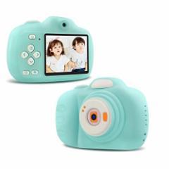 [新品]子供用 デジタルカメラ トイカメラ 子供用カメラ 自撮可能 1200万画素 2.33インチ IPS画面 4倍ズーム 多機能 USB充電 子供の日
