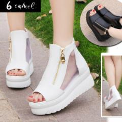【返品不可】  セール  SALE    サンダル  厚底  ブーティ  ブラック  ホワイト  フラット  靴  シューズ