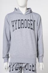 ハイドロゲン HYDROGEN トレーナー パーカー スウェット グレー メンズ 220628 2018年春夏新作 2018SS_SALE 送料無料