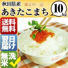 秋田県 無洗米 1等米 100% あきたこまち 10kg 平成28年度 【送料無料】 北海道・沖縄・離島は配送不可