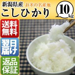 新潟県 白米 1等米 100% こしひかり 10kg 平成28...