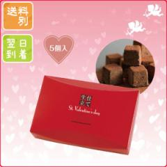 バレンタイン チョコ チョコレート 義理 パッケージ 2018年 プチギフト 生チョコ仕立て5個入り 送料別