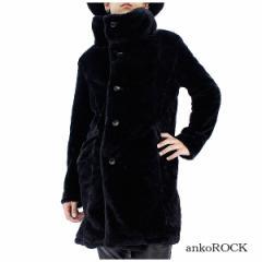 ankoROCK アンコロック ブルゾン メンズ ブルゾン ユニセックス ビッグシルエット ファー オーバーサイズ 黒 ブラック