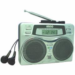 【在庫あり】ANDO 2スピーカーラジカセ  RC7-874D  携帯ラジオ
