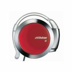 ビクター Victor 耳掛け型アームレスヘッドホン メタリック&レッド  HP-AL202-MR