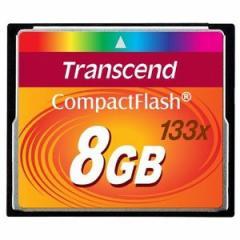 【在庫あり】TS8GCF133  トランセンド コンパクトフラッシュカード  8GB