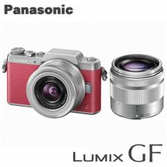 パナソニック ミラーレス一眼レフカメラ LUMIX DMC-GF7W-P ダブルズームレンズキット [ピンク]