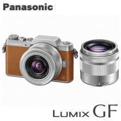 パナソニック ミラーレス一眼レフカメラ LUMIX DMC-GF7W-T ダブルズームレンズキット [ブラウン]