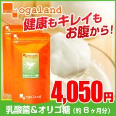 ■即納■お徳用乳酸菌&オリゴ糖(2個セット・約6ヶ月分)3150円以上送料無料 ヨーグルト 健康ケア サプリ オリゴ糖 トイレ習慣