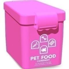 ペットフードカンパニー ピンク Sサイズ(1コ入)(発送可能時期:3-7日(通常))[ペットの雑貨・ケアグッズ]