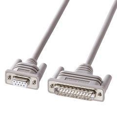 エコRS-232Cケーブル 2m KR-EC925CR2(1本入)(発送可能時期:3-7日(通常))[情報家電 その他]