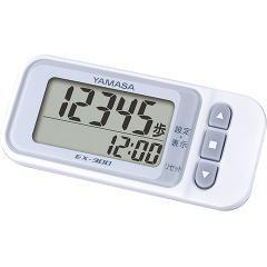らくらくまんぽ ホワイト EX-300(1台)(発送可能時期:3-7日(通常))[歩数計]