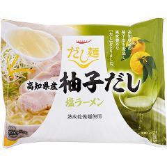 タベテ だし麺 高知県産柚子だし 塩ラーメン(102g)(発送可能時期:1週間-10日(通常))[袋麺]