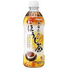 サンガリア あなたのほうじ茶(500mL*24本入)(発送可能時期:1-5日(通常))[ほうじ茶]