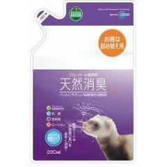 マルカン 天然消臭フェレット 小動物詰替えパック(280mL)(発送可能時期:3-7日(通常))[小動物サプリメント]