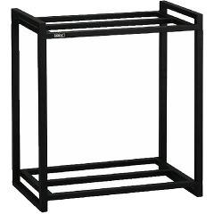 60cm水槽用 組立2段台 ブラック(1コ入)(発送可能時期:3-7日(通常))[水槽]