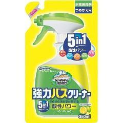 スクラビングバブル 強力バスクリーナー シトラスライムの香り つめかえ(350mL)(発送可能時期:3-7日(通常))[お風呂用洗剤(つめかえ用)]
