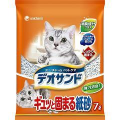 猫砂 燃やせるデオサンド(7L)(発送可能時期:3-7日(通常))[猫砂・猫トイレ用品]