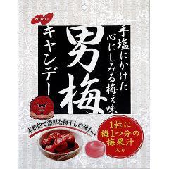 ノーベル製菓 男梅(80g)(発送可能時期:3-7日(通常))[飴(あめ)]