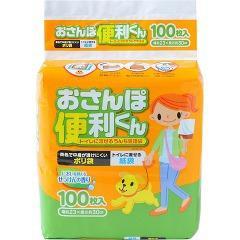 うんち処理袋 おさんぽ便利くん せっけんの香り(100枚入)(発送可能時期:1-5日(通常))[ペットのお散歩用品・おしゃれ]