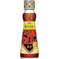 日清 純正 香りひき立つごま油(130g)(発送可能時期:3-7日(通常))[胡麻油]