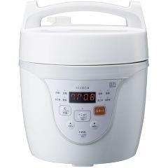 シロカ マイコン電気圧力鍋 クックマイスター ホワイト SPC-101WH(1台)(発送可能時期:3-7日(通常))[グリル鍋]