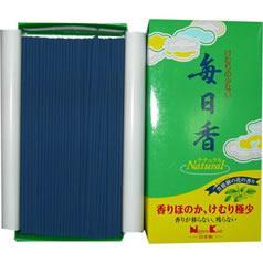 毎日香ナチュラル バラ詰(約140g)(発送可能時期:3-7日(通常))[線香]