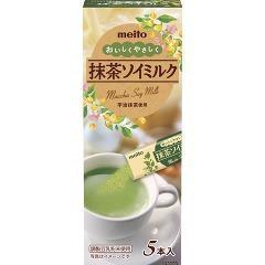 おいしくやさしく 抹茶ソイミルク(5本入)(発送可能時期:1週間-10日(通常))[豆乳]