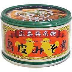 鳥皮みそ煮(130g)(発送可能時期:3-7日(通常))[食肉加工缶詰]
