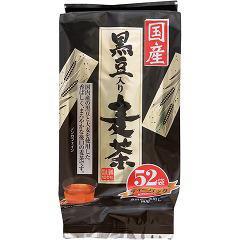 国産 黒豆入り麦茶 ティーパック(8g*52袋入)(発送可能時期:1週間-10日(通常))[麦茶]