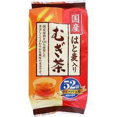 国産 はと麦入りむぎ茶 ティーパック(8g*52袋入)(発送可能時期:1週間-10日(通常))[麦茶]