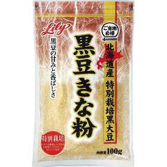ご当地自慢 北海道産特別栽培黒大豆 黒豆きな粉(100g)(発送可能時期:3-7日(通常))[きな粉]
