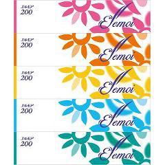 【お得】エルモア ティシュー 400枚(200組)(5箱)(発送可能時期:3-7日(通常))[箱ティッシュ]