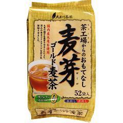 茶工場からのおもてなし 麦芽ゴールド麦茶(8g*52袋入)(発送可能時期:1週間-10日(通常))[麦茶]