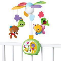 やすらぎふわふわメリー(1コ入)(発送可能時期:1-3日(通常))[ベビー玩具・赤ちゃんおもちゃ その他]