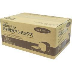 シロカ 毎日おいしい お手軽食パンミックス 1斤*10袋入 SHB-MIX1260(1セット)(発送可能時期:3-7日(通常))[ホームベーカリー]