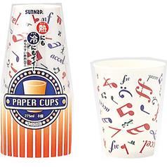 サンナップ 保温保冷カップ メロディ(8コ入)(発送可能時期:3-7日(通常))[紙コップ]