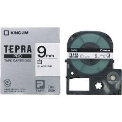 テプラ・プロ テープカートリッジ 白ラベル 9mm 黒文字 SS9K(1コ入)(発送可能時期:3-7日(通常))[ラベルライター]