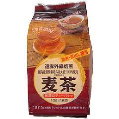 創健社 国内産六条大麦使用麦茶(10g*16袋入)(発送可能時期:1週間-10日(通常))[麦茶]