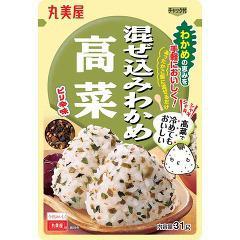 混ぜ込みわかめ 高菜 袋入(31g)(発送可能時期:1週間-10日(通常))[ふりかけ]