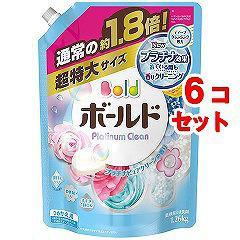 ボールド 香りのサプリインジェル 詰替え用 超特大サイズ(1.26kg*6コセット)(発送可能時期:3-7日(通常))[洗濯洗剤]